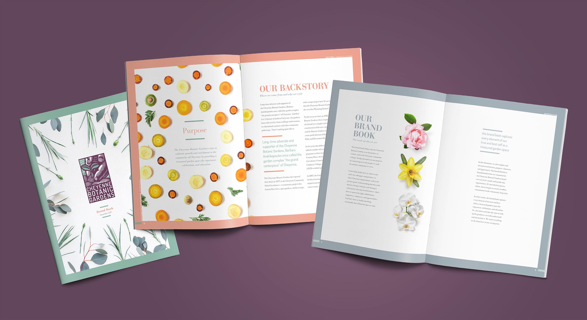 Botanic mockup branding creativeguild