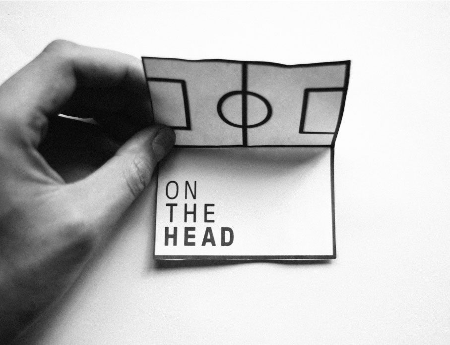 On the head 3