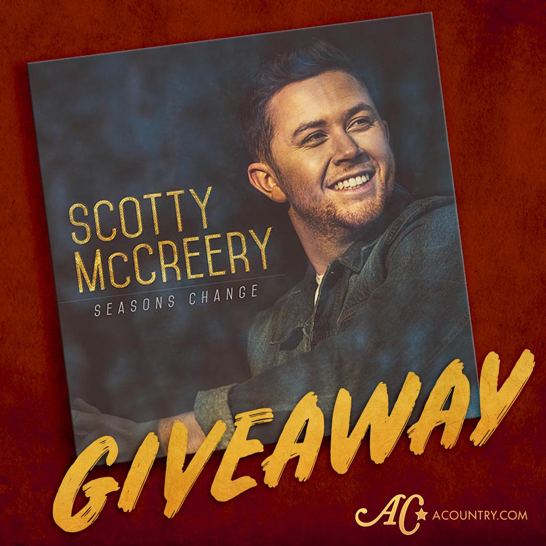 Giveaway scottymccreery
