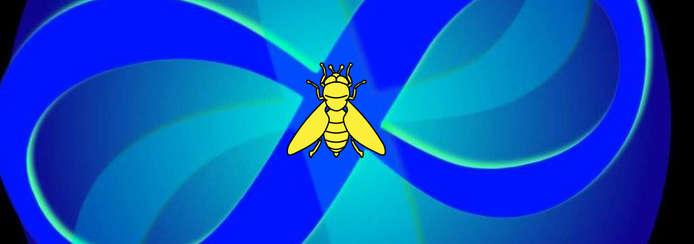 Small logo abeille