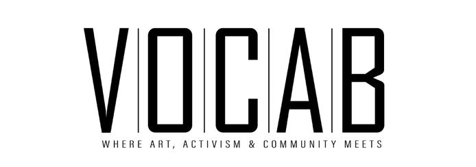 Small large vocab logo a3 black