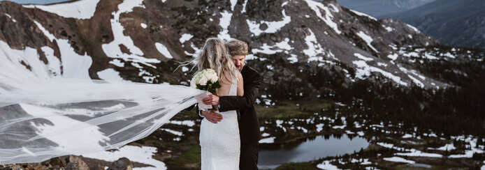 Small colorado elopement packages