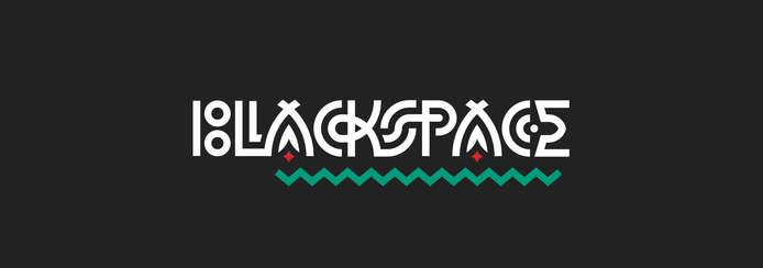 Small blackspace.main logotype color 2