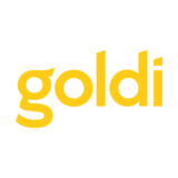 Small goldi logo centre