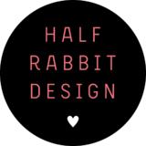 Small half rabbit circle logo