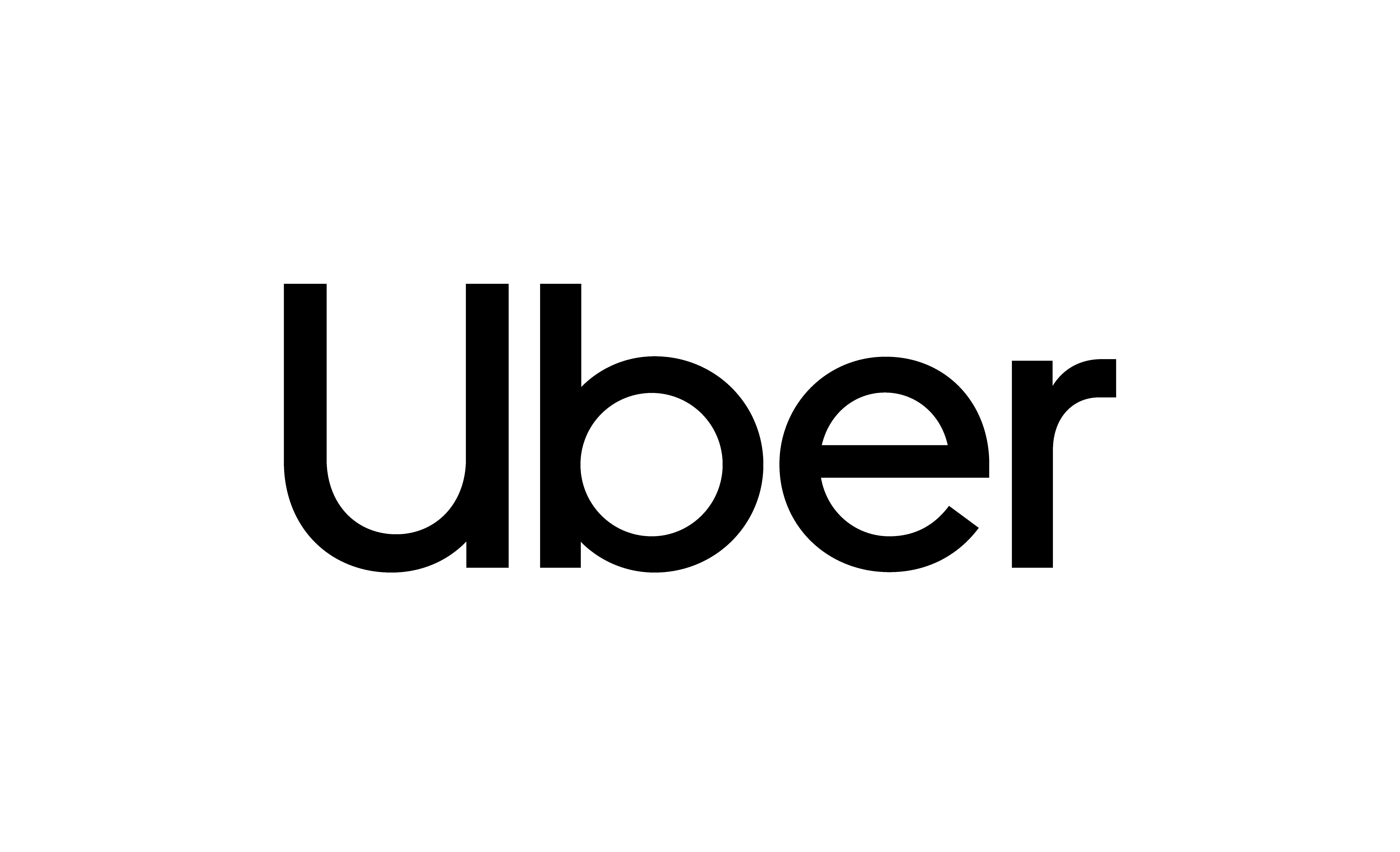 Uber logo black rgb