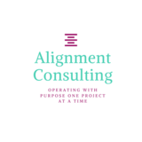 Small alignment consulting logo