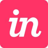Small invision icon pink