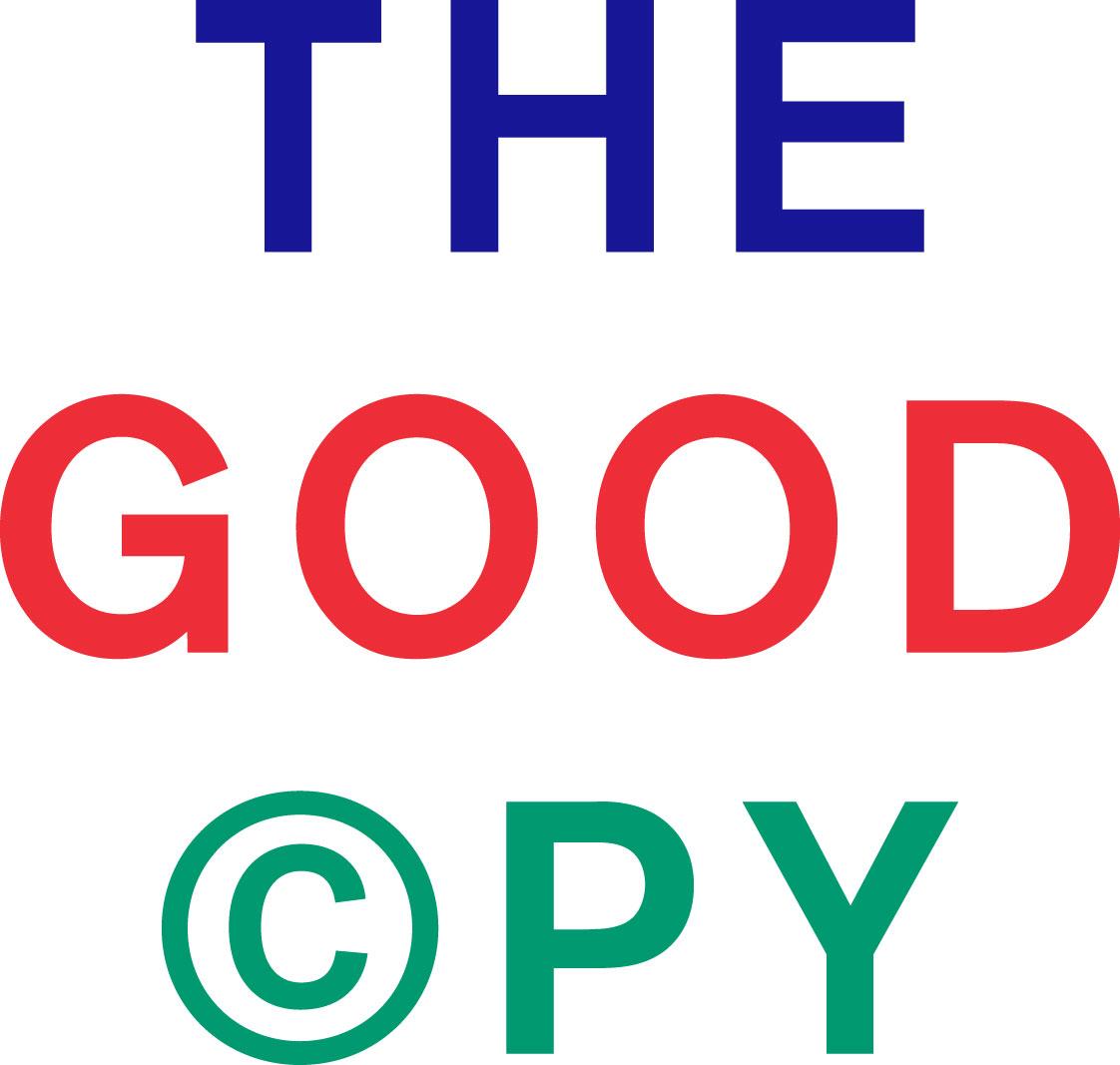 Thegoodcopy logo rgb