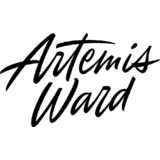 Small artemisward logo stacked black