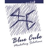 Small blue cube logo