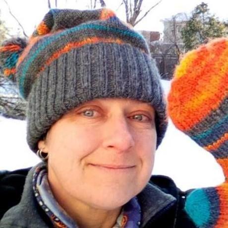 New orange hat   gloves