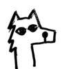 Small wolf profile