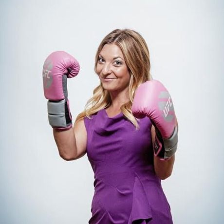 Katie boxing pic