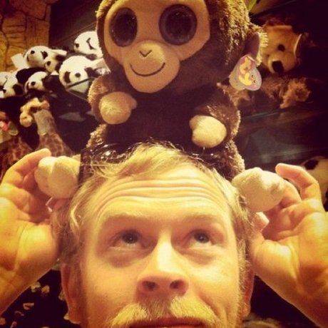 John with monkey 01