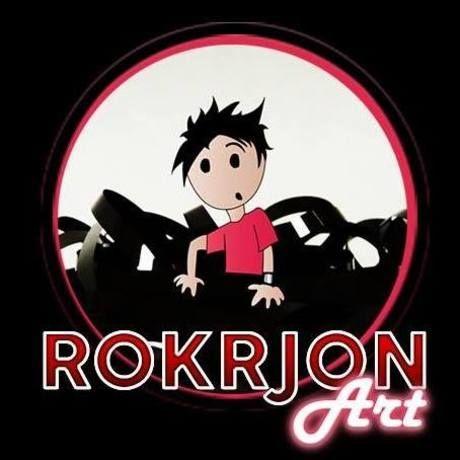 Rokrjon logo round