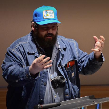 aaron james draplin creativemornings pdx. Black Bedroom Furniture Sets. Home Design Ideas