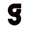 Small g logo black