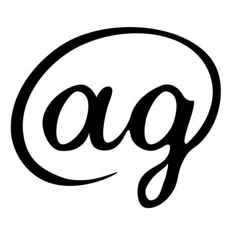 Ag logo final blk wht 04