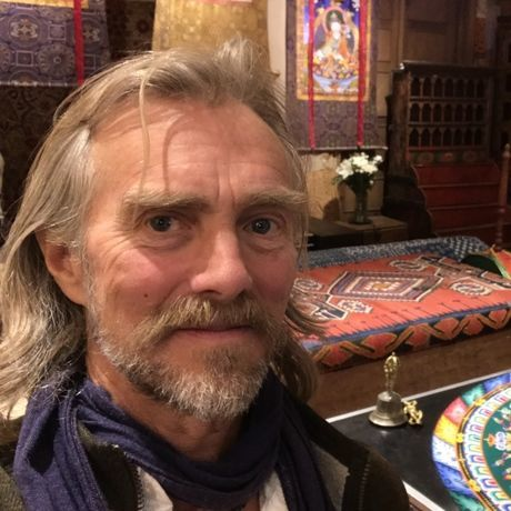John at sand mandala square