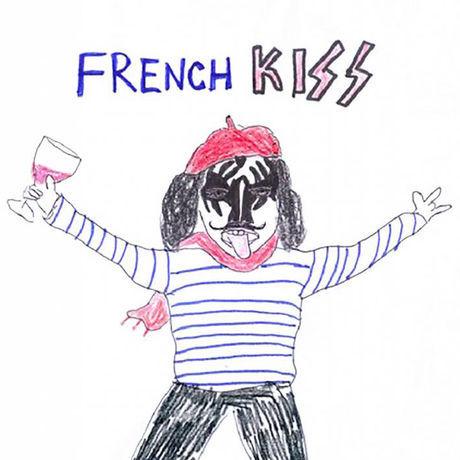 Unfortunate portrait french kiss short sleeve tee
