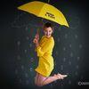 Small yellow rain jumping
