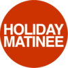 Small holiday matinee logo