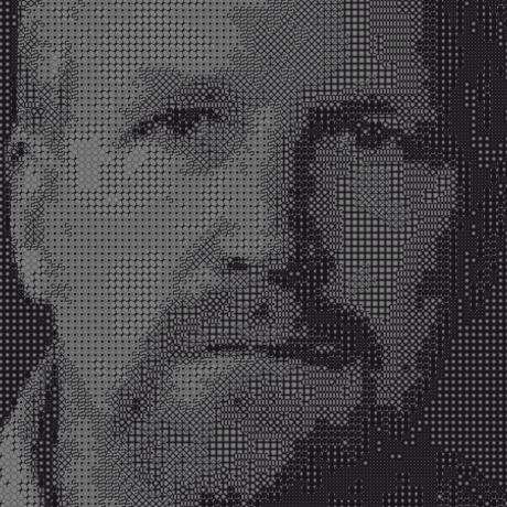Tweaver pixel portrait