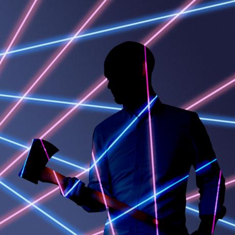 Laser craig