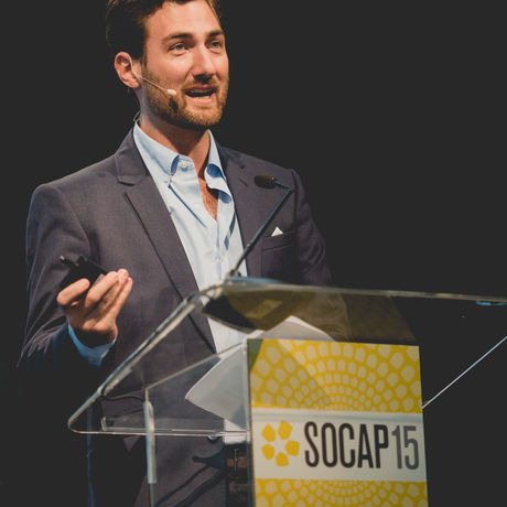 Sam at socap15
