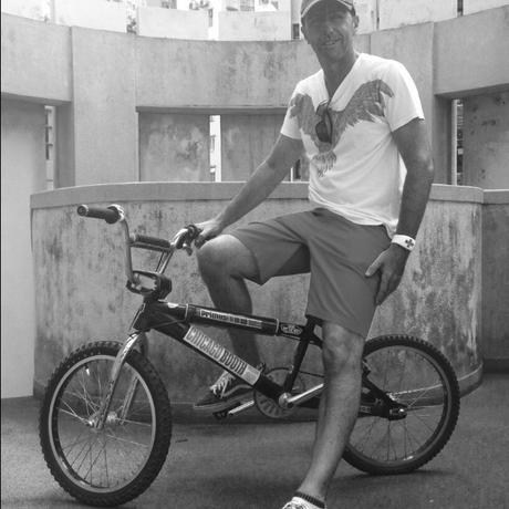 Alternative profile picture   on bike b w.jpg