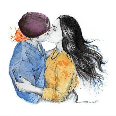 El beso final