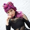 Small mermaid harajuku hair purple haircolor style