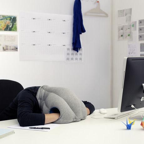 Ostrich pillow studio banana things kawamura ganjavian 05