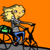 Small bike with color