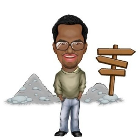 Casual static avatar