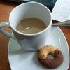 Small taza y galleta