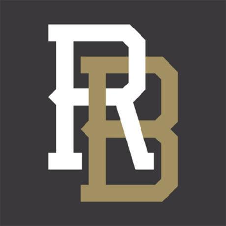 Rb monogram black