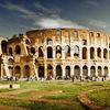 Small colosseum taly rome landscape1