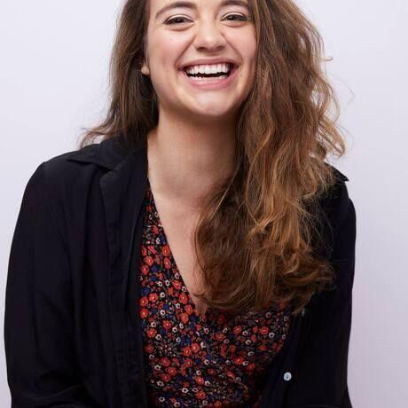 Jillian richardson laughing headshot
