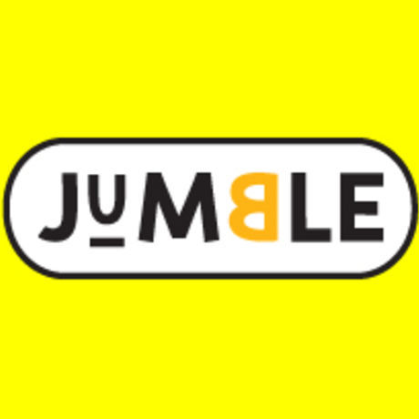 Jumble logo yellow