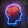 Small open mind m