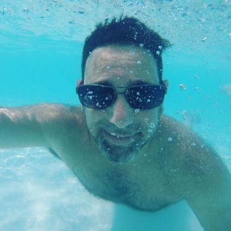 Underwaterselfy