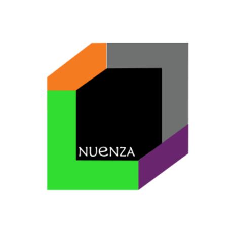 Nuenza color loge  square white