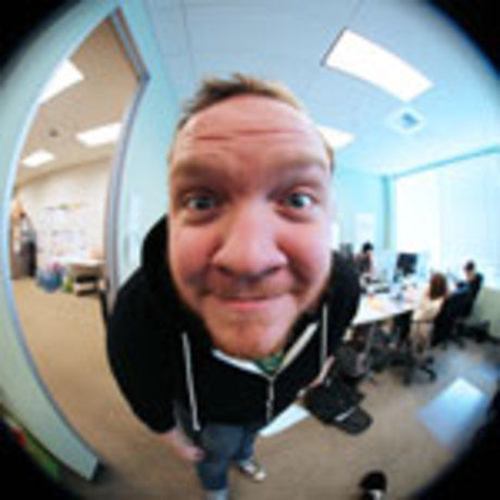Fisheye edited square small