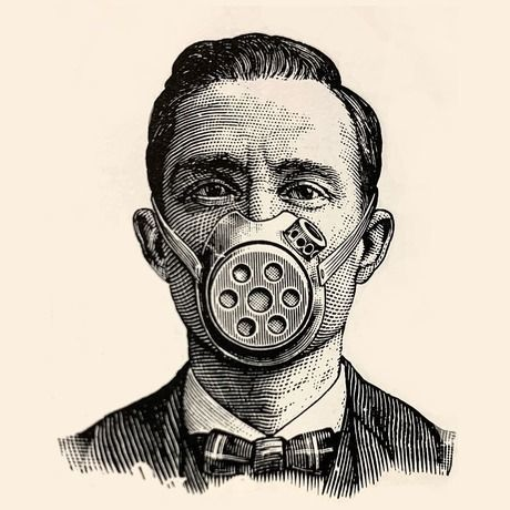 Vintage respirator
