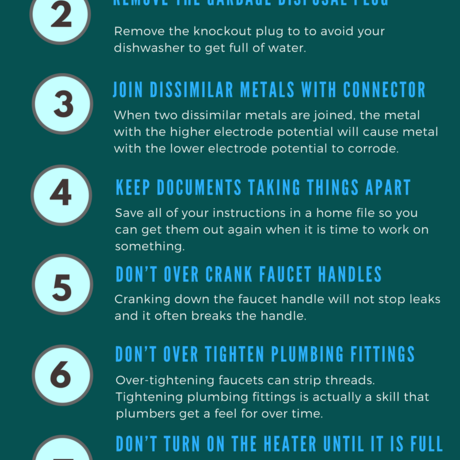 Ways to avoid plumbing disasters