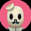 Small skull profile