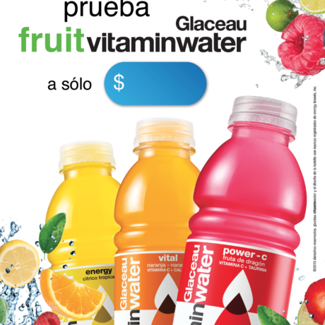 Poster fruit vitaminwater