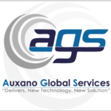 Auxano global services   logo on square